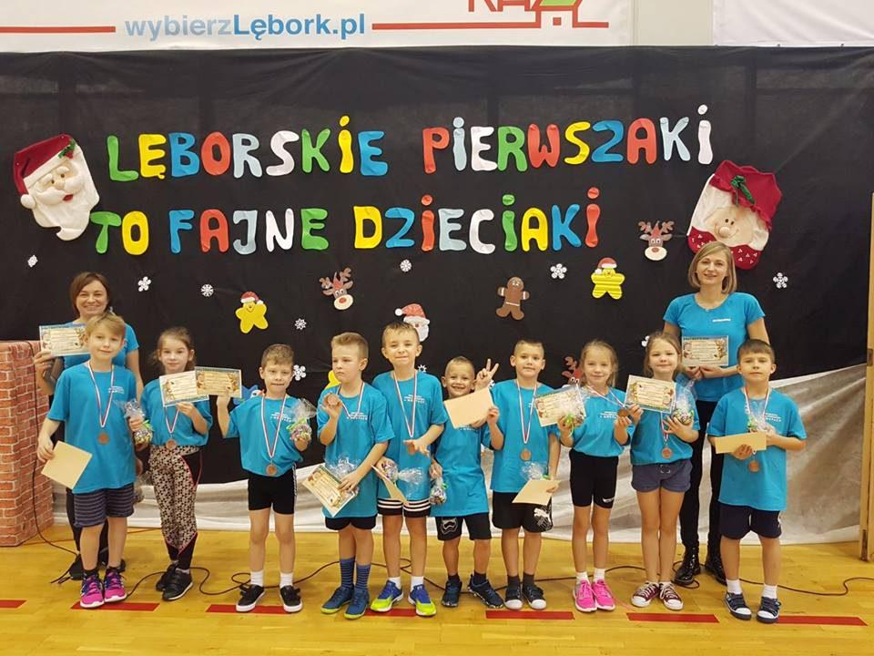 Lęborskie pierwszaki to fajne dzieciaki – turniej sportowy