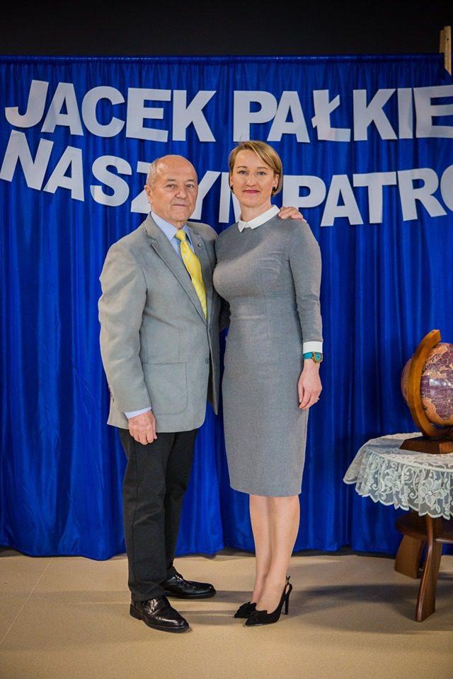 Jacek Pałkiewicz naszym Patronem