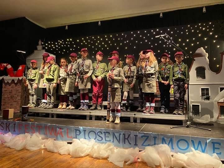 I Harcerski Festiwal Piosenki Zimowej.