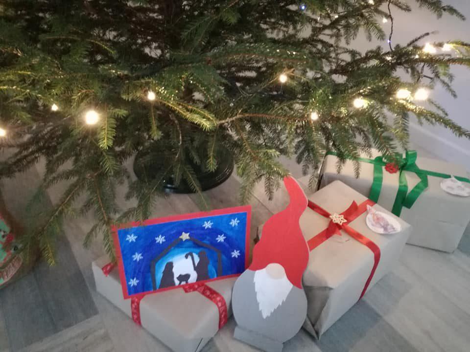 Świątecznie z naszym patronem :)