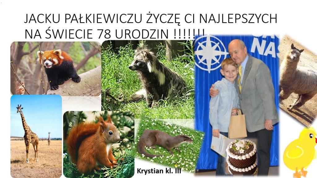 Jacek Pałkiewicz – świętujemy urodziny Patrona