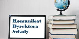 Komunikat dyrektora Niepublicznej Szkoły Podstawowej AZYMUT im. Jacka Pałkiewicza w Mostach
