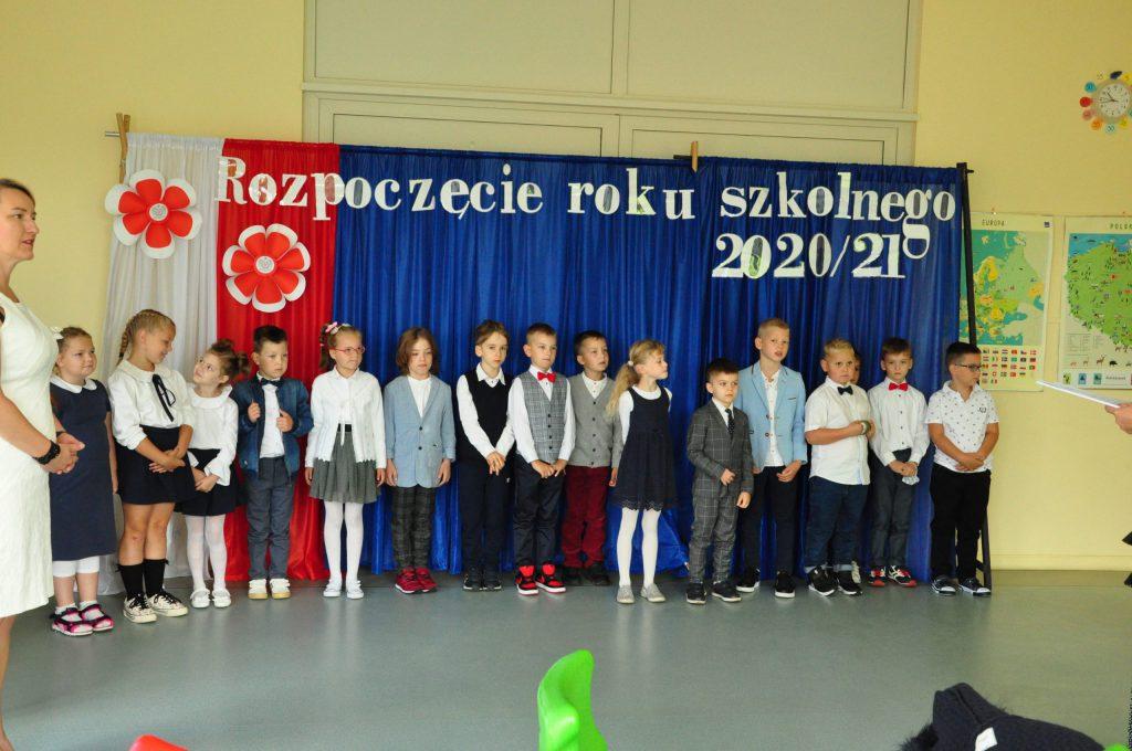 Rozpoczęcie roku szkolnego 2020/2021 – pasowanie na ucznia