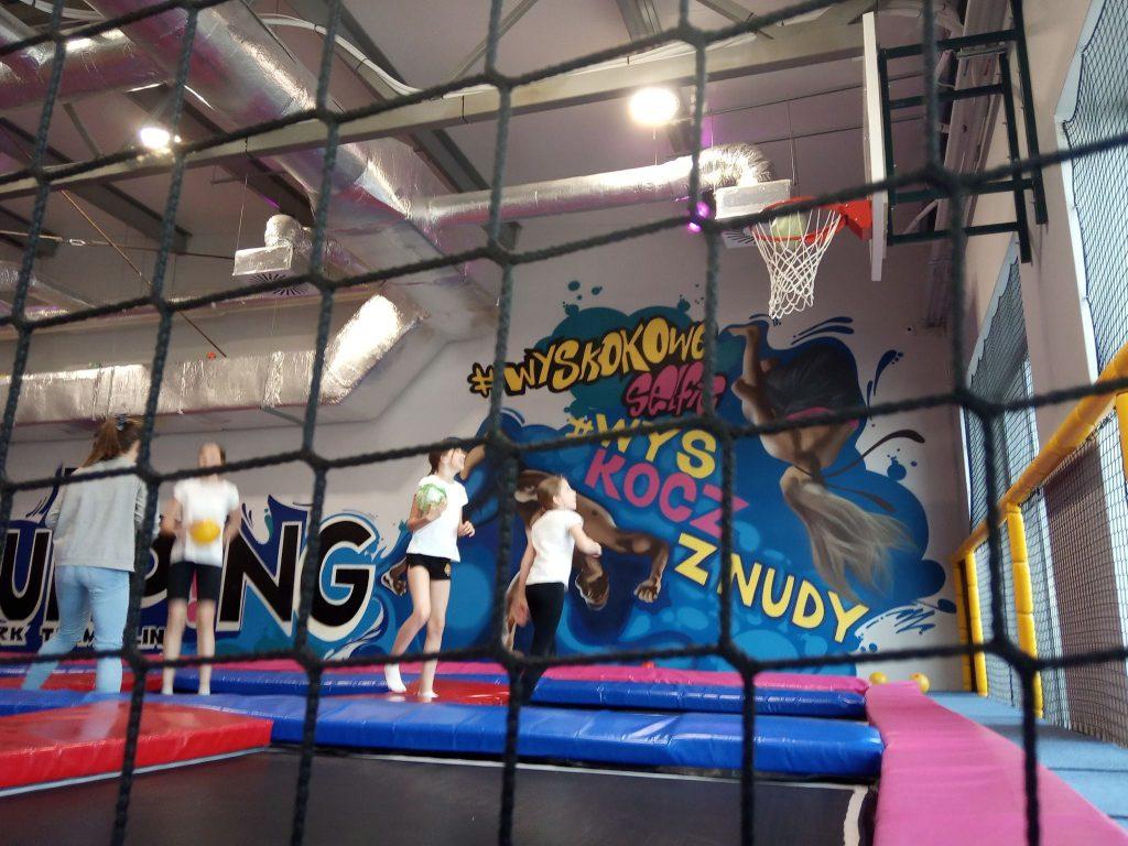 Integracja w Jumping Park – kl. V