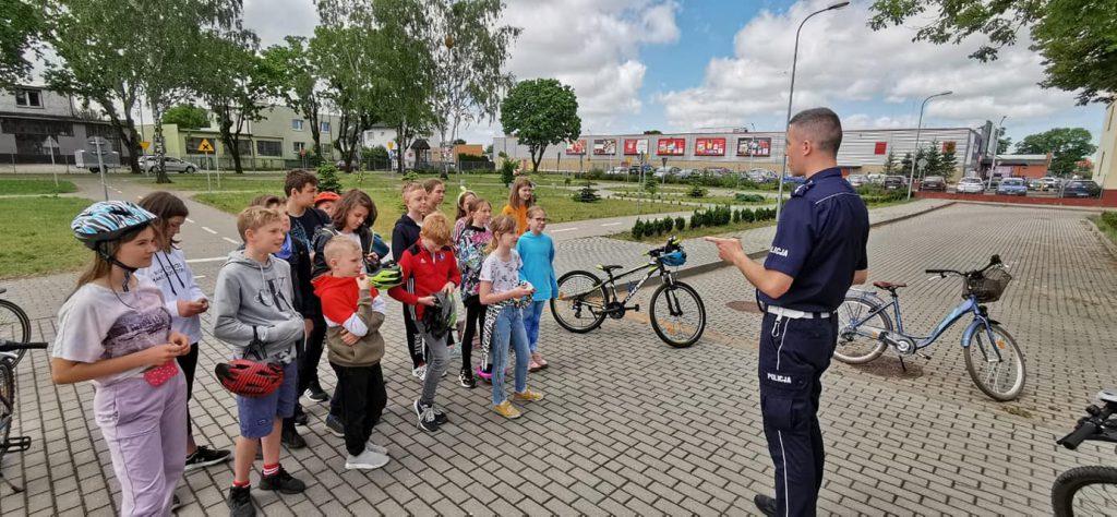 Karta rowerowa – egzamin praktyczny.