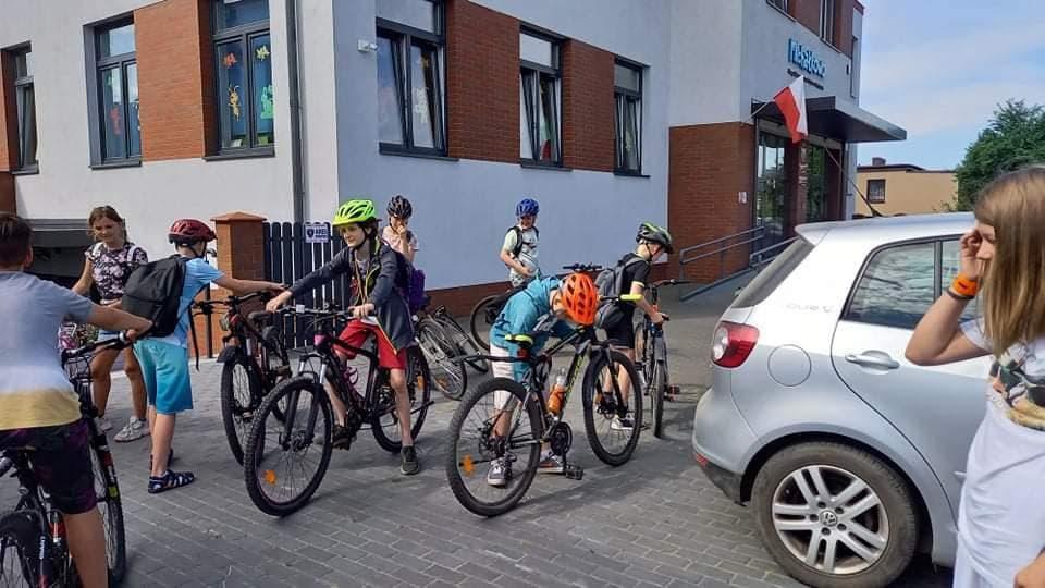 Wycieczka rowerowa kl. IV-VI